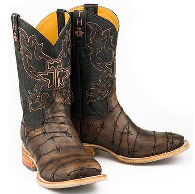 Tin Haul Shoes Mens Bob Wire Western Boot