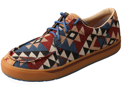 Twisted X Men's Hooey Lopers C Toe - Graphic Pattern Canvas