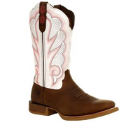 DURANGO® LADY REBEL PRO™ WOMEN'S WHITE VENTILATED WESTERN BOOT