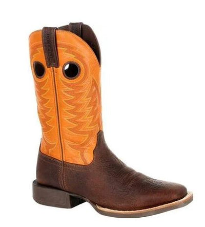 DURANGO® MEN'S REBEL PRO™ ORANGE WESTERN BOOT