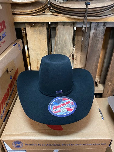 American Hat Co. - Felt - Black