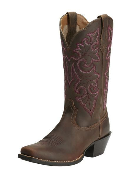 Ariat Women's Round Up Square Toe