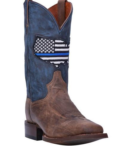 Dan Post Men's Thin Blue Line Western Boots