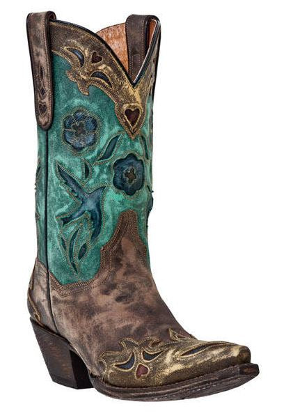Dan Post Women's Vintage Blue Bird Boot's