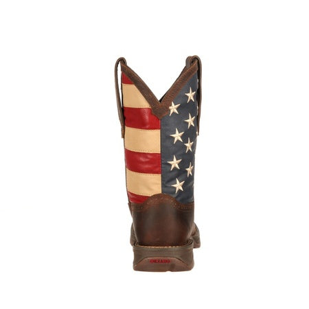 Durango Rebel Men's Patriotic Pull-On Western Boot
