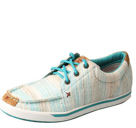 Twisted X Women's Hooey Lopers - Blue / Multi