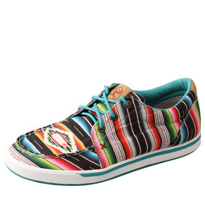 Twisted X Women's Hooey Lopers - Black / Serape