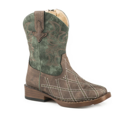 "Roper Toddler's ""Crosscut"" Western Boot"