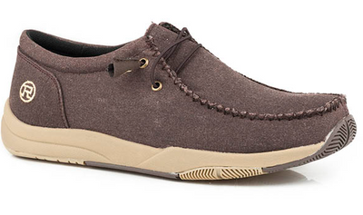 Roper Men's Brown Canvas