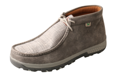 Twisted X Men's Light Grey Chukka Driving Moc