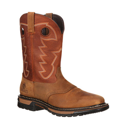 Rocky Men's Original Ride Burnt Orange Boots