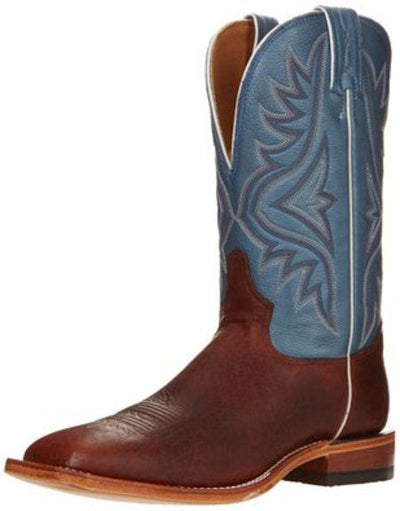 Tony Lama Men's Pecan Bison Boots - OUT OF STOCK