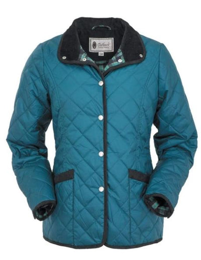 Women's Teal Outback Trading Barn Jacket