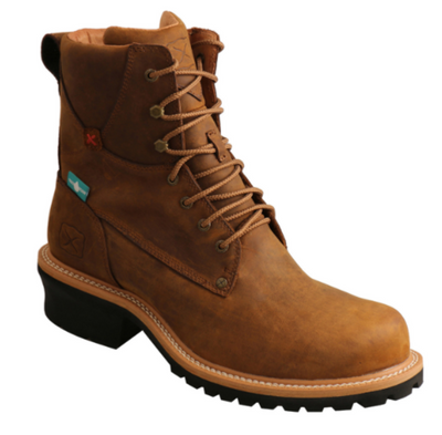 Twisted x Brown Logger Composite Toe Waterproof Boots