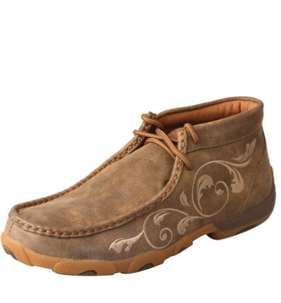 Twisted X Women's Driving Mocs D Toe - Bomber