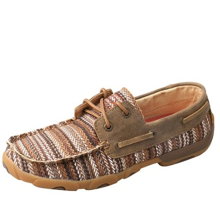 Twisted X Women's Driving Mocs D Toe - Multi / Bomber