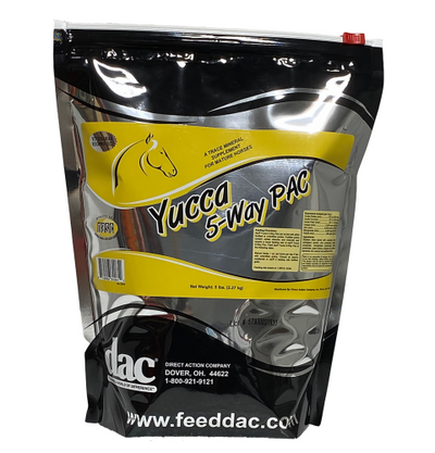 DAC Yucca 5-way PAC Equine Supplement