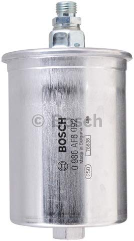 Bosch 0986AF8092 Fuel Filter Bosch Gasoline Fuel Filter