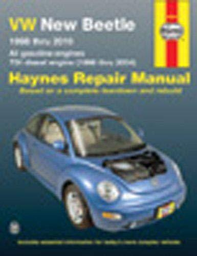 VW New Beetle, 1998-2000 (Haynes Manuals)