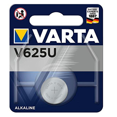 Varta 625U Electronic Alkaline 1.5V Battery for Cameras/MP3 Player and GameBoy (Blue Silver)