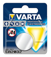 Varta VCR2032 Electronic Lithium 3V Battery for Cameras/MP3 Players