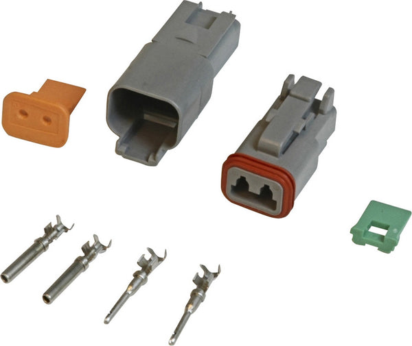MSD 8183 2-Pin 16 Gauge Deutsch Connector