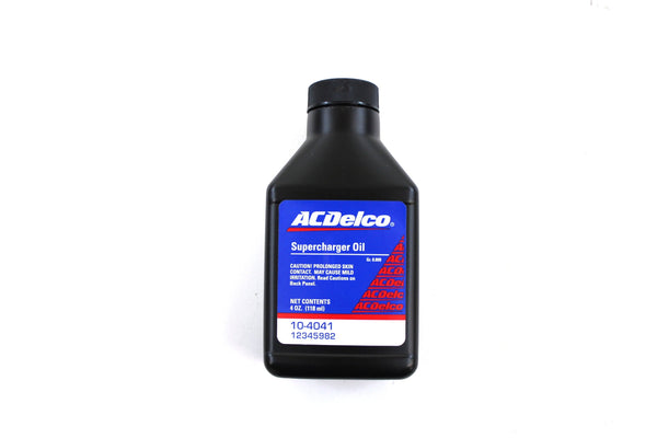 ACDelco 10-4041 Synthetic Supercharger Oil - 4 oz