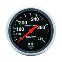 Auto Meter 3441 Sport-Comp Mechanical Oil Temperature Gauge