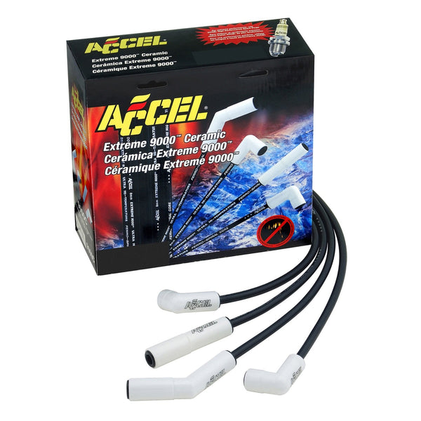 ACCEL 9024C Ceramic Spark Plug Wire Set for GM Truck 90-95