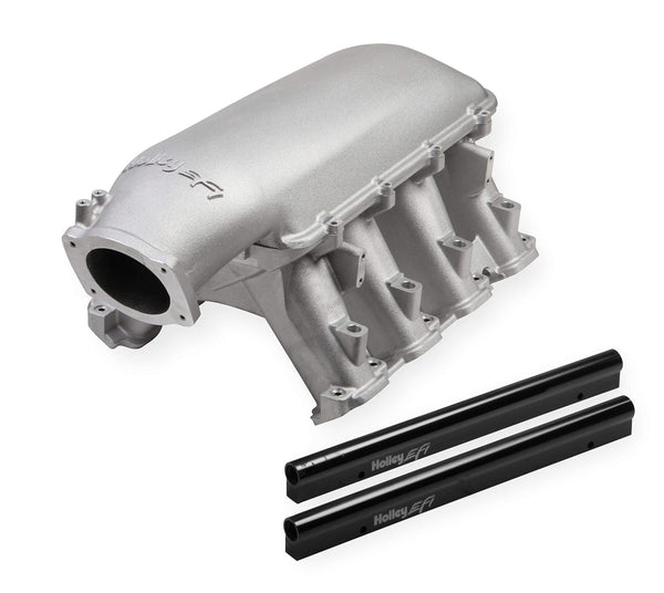 Weiand 300-140 Hi-Ram Intake Manifold Power Band 3500-8000 RPM Fits w/GM Gen 5 LT1 w/105mm LS Throttle Body Incl. Port EFI Provisions And Fuel Rails Hi-Ram Intake Manifold