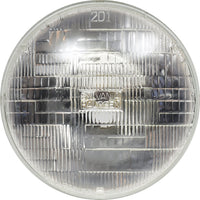 "SYLVANIA H6024 Basic Halogen Sealed Beam Headlight (7"" Round) PAR56, (Contains 1 Bulb)"