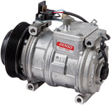Denso 471-1224 New Compressor with Clutch