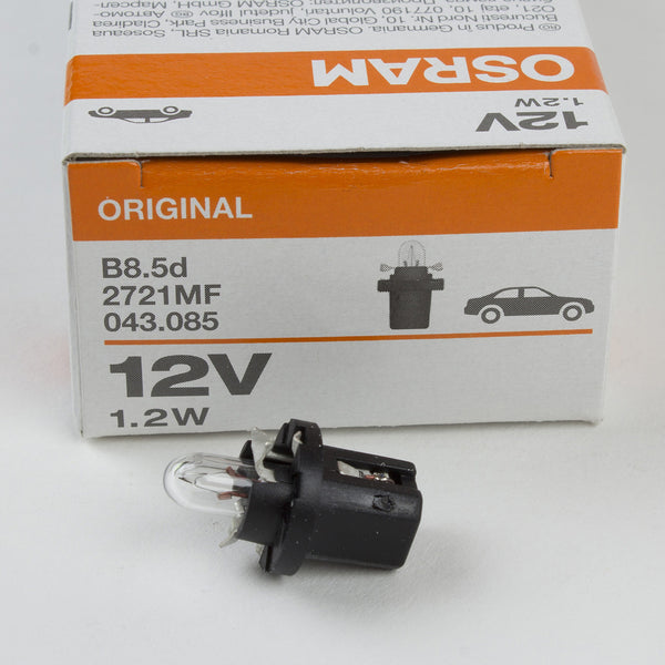 Lamp light bulb OSRAM 2721MF 12V1,2W