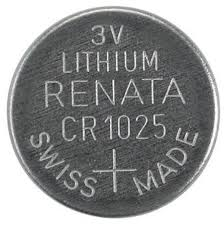 CR1025 Renata Lithium Coin Battery, 1 battery - genuinebattery.com