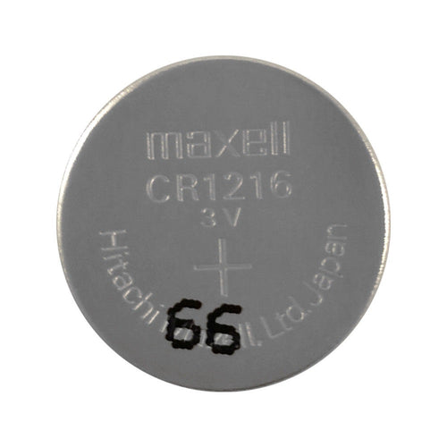 CR1216 Maxell Lithium 3V Coin Battery, 1 Battery - genuinebattery.com
