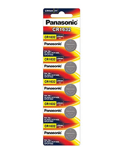 Panasonic CR1632 3V Lithium Coin Battery, 1 Battery