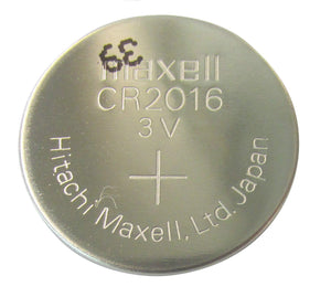 CR2016 Maxell Lithium 3V Coin Battery, 1 Battery - genuinebattery.com