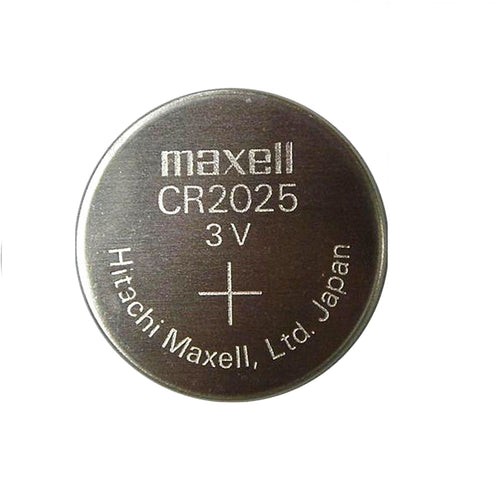 CR2025 Maxell Lithium 3V Coin Battery, 1 Battery - genuinebattery.com