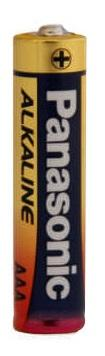 Panasonic 1.5V AAA Alkaline Battery LR03TDG - Royal Technologies :::::  genuinebattery.com