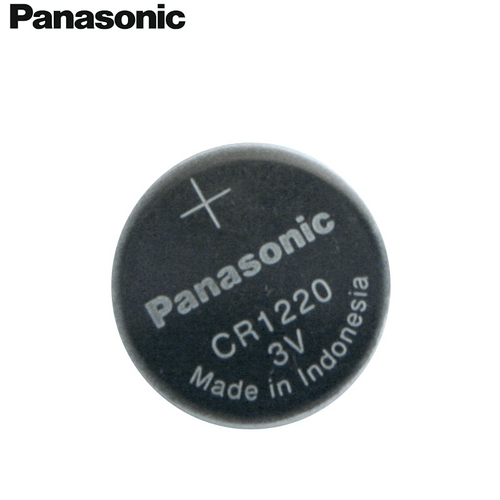 Panasonic CR1220 3V Lithium Coin Battery, 1 Battery