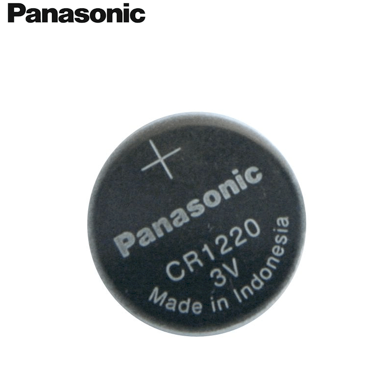 Panasonic CR1220 3V Lithium Coin Battery, 5 Batteries - genuinebattery.com