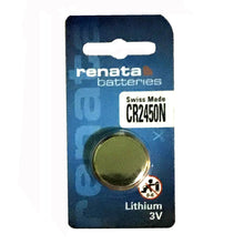 CR2450n Renata Lithium Coin Battery, 1 battery - genuinebattery.com