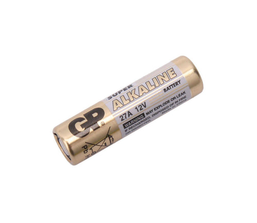 GP 27A 12V High Voltage Alkaline Battery , 1 battery - Royal Technologies :::::  genuinebattery.com