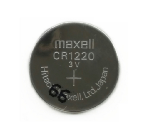 CR1220 Maxell Lithium 3V Coin Battery, 1 Battery - genuinebattery.com