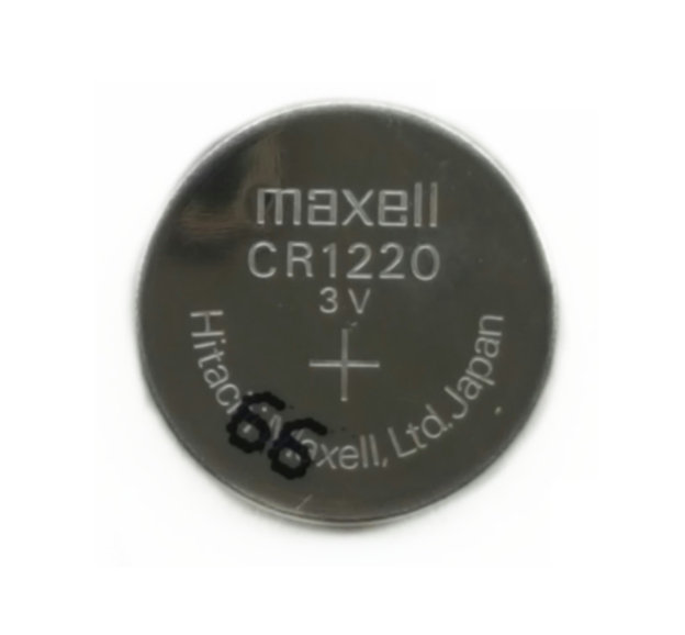 CR1220 Maxell Lithium 3V Coin Battery, 1 Battery