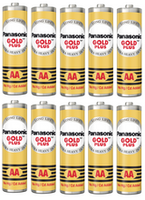 Panasonic Aa Gold Plus Battery Um-3Ng (Pack Of 10)