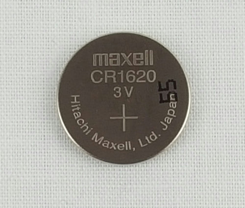 CR1620 Maxell Lithium 3V Coin Battery, 1 Battery