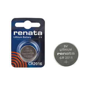CR2016 Renata Lithium Coin Battery, 1 battery - genuinebattery.com