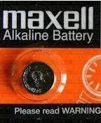 LR41 Maxell Alkaline Button cell Battery , 1 battery