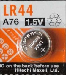 LR44 Maxell Alkaline Button cell Battery , 1 battery - genuinebattery.com